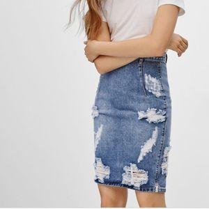 NEW Aritzia - One Teaspoon Free Love Skirt in Ford